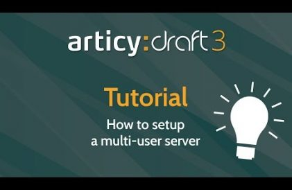 articy:draft 3 multi-user server setup tutorial title thumbnail