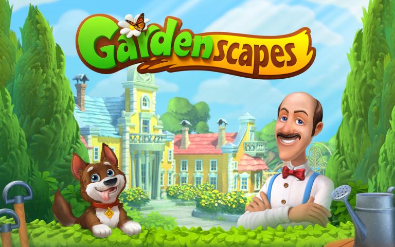 Gardenscapes title image