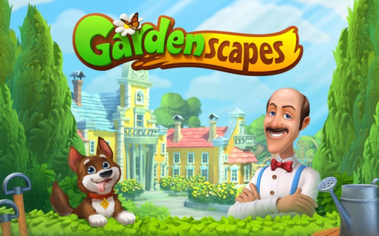 Gardenscapes Splash Screen