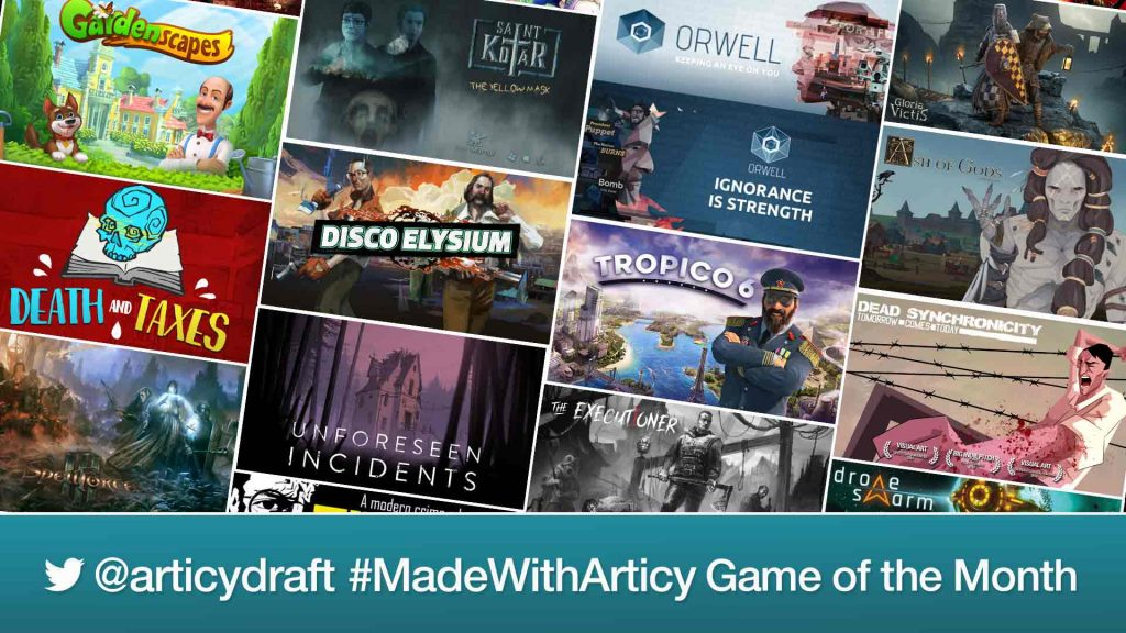 Collection of Games Made With articy:draft