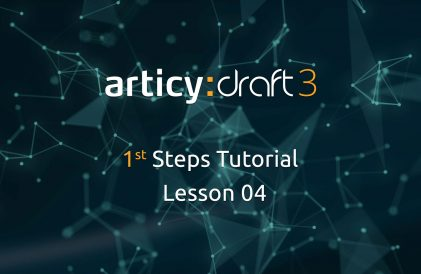articy:draft 1st Steps Tutorial Series - Lesson 04