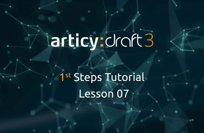 articy:draft 1st Steps Tutorial Series - Lesson 7