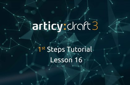 articy:draft 1st Steps Tutorial Series - Lesson 16