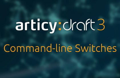 blog title image - articy command-line switches