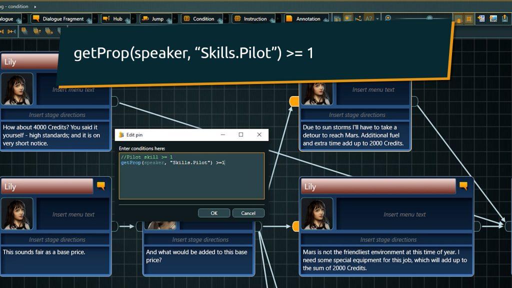 Using Speaker identifier in Dialogue Fragments